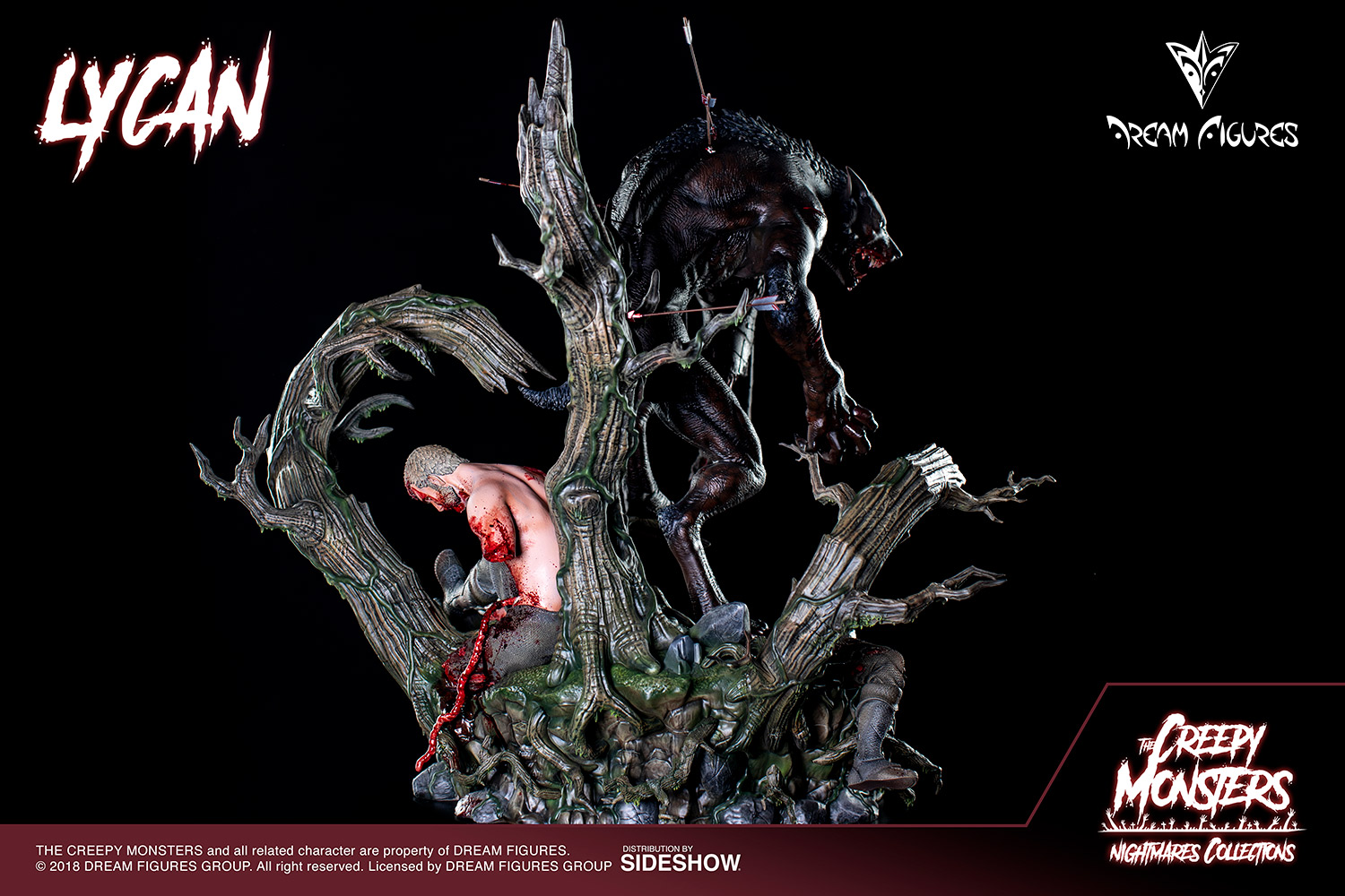 Link a Lycan-Statue-016