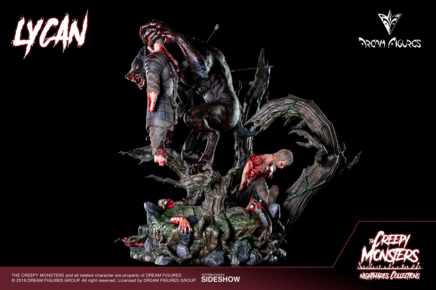 Link a Lycan-Statue-018