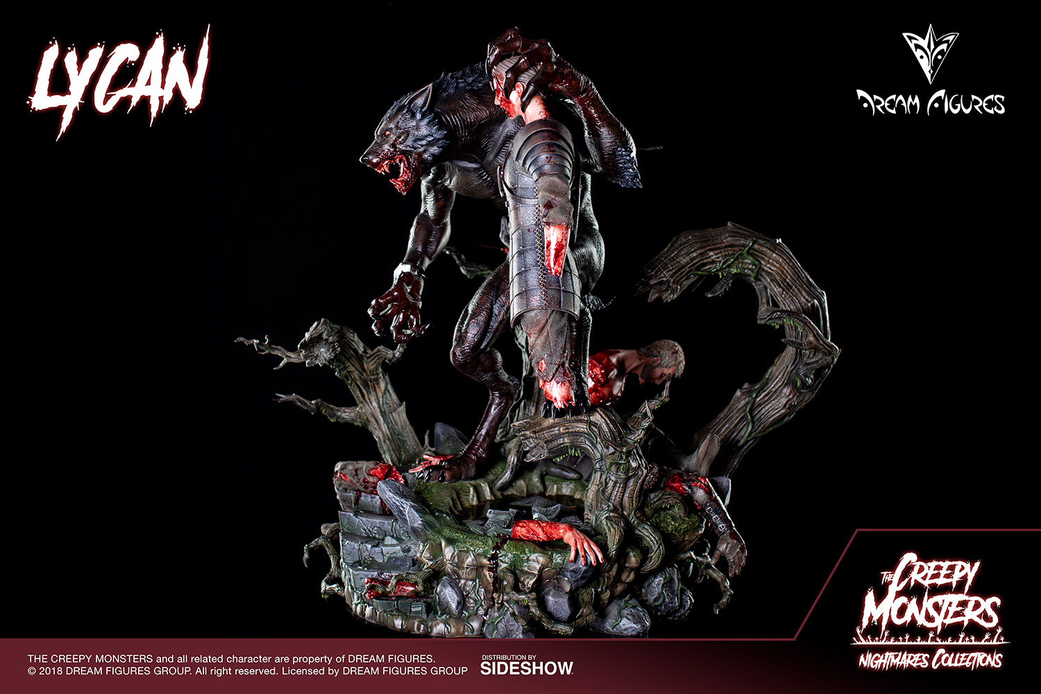 Link a Lycan-Statue-020