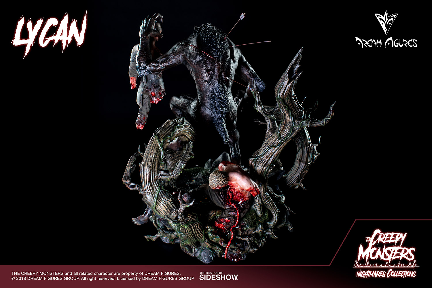 Link a Lycan-Statue-022