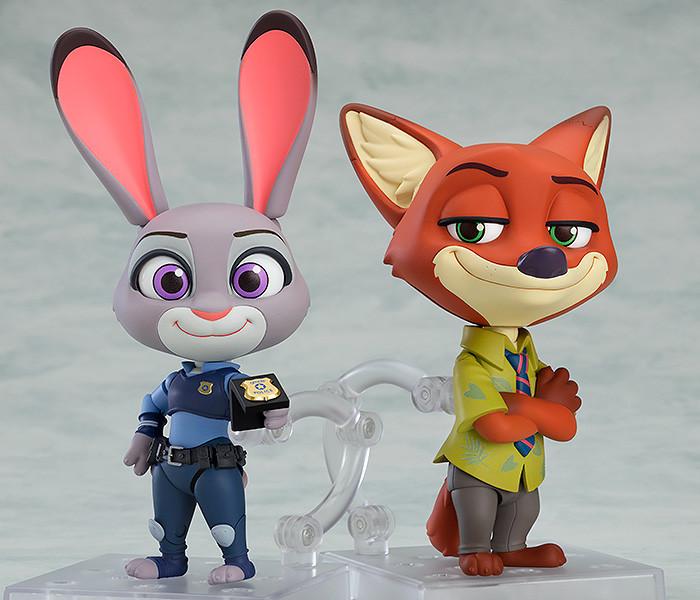 Link a Nendoroid – Good Smile Company – Disney – Zootopia – Nick – Judy – 6