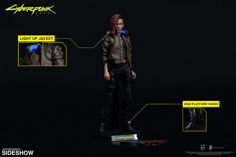 Link a Pure-Arts-Cyberpunk-2077-Male-V-preordini-action figure – 2