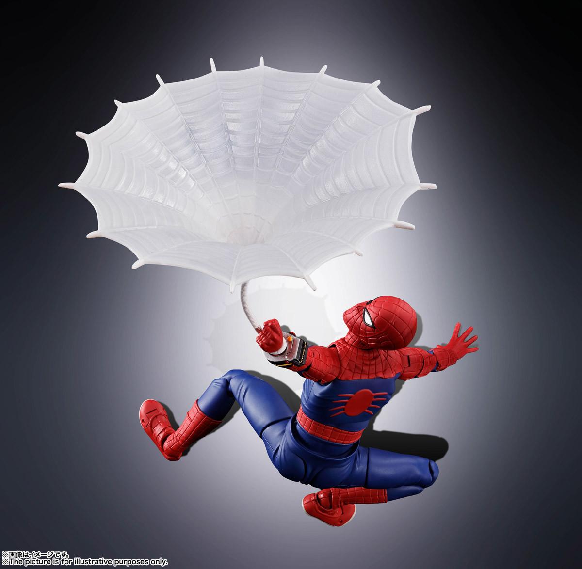 Link a Spider-Man – Figuarts – Bandai – preordini – 10