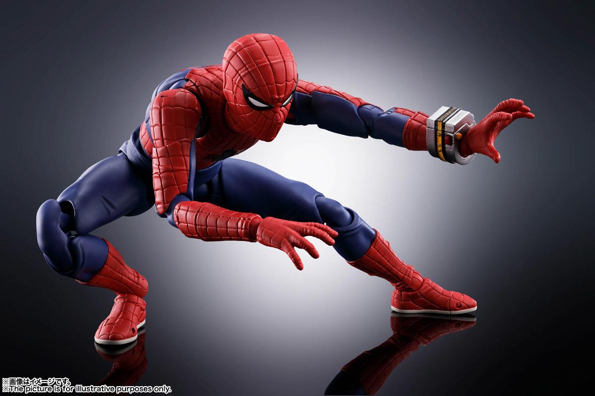 Link a Spider-Man – Figuarts – Bandai – preordini – 3