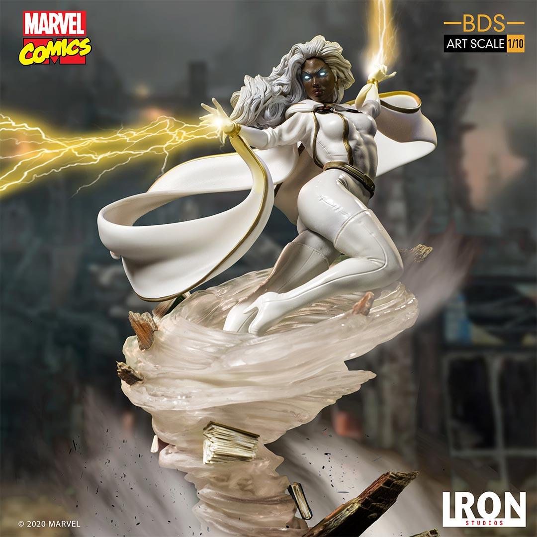 Link a Storm – Iron Studios – Marvel Comics – Statue – 10