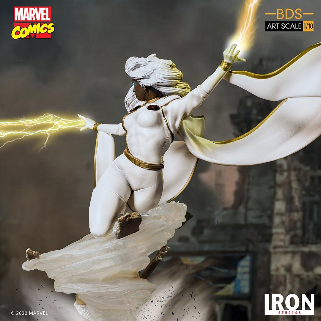 Link a Storm – Iron Studios – Marvel Comics – Statue – 11