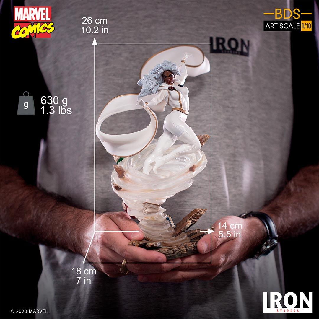 Link a Storm – Iron Studios – Marvel Comics – Statue – 13