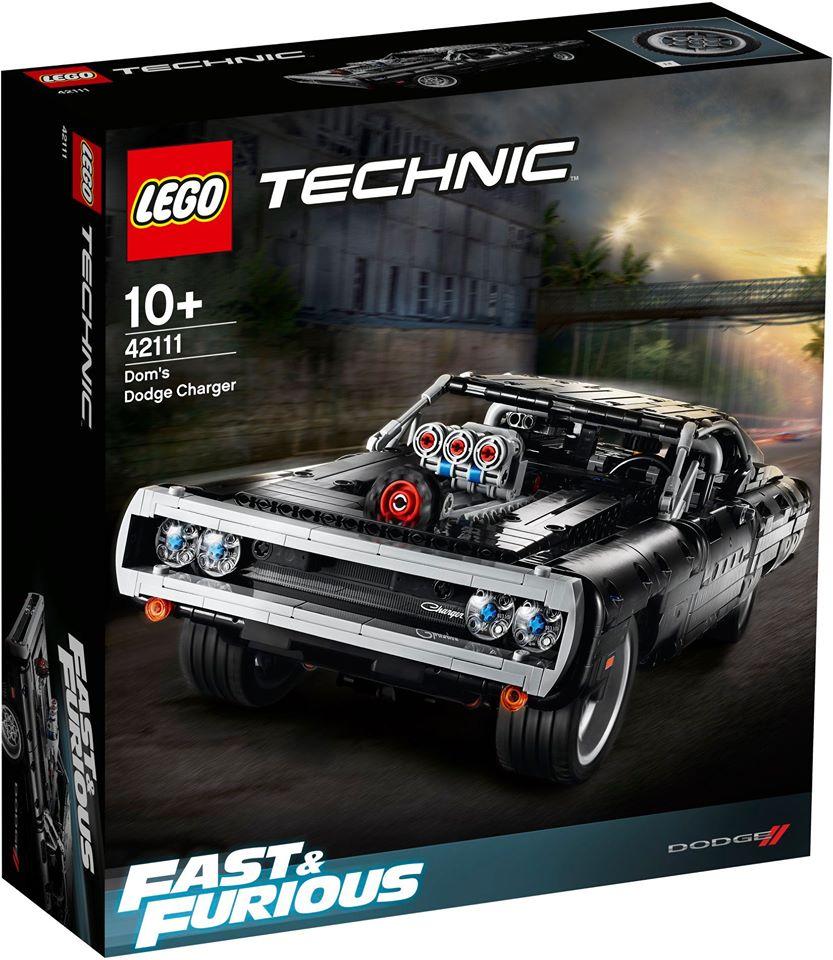 Link a lego technic – fast & furious – toretto – dodge – 1