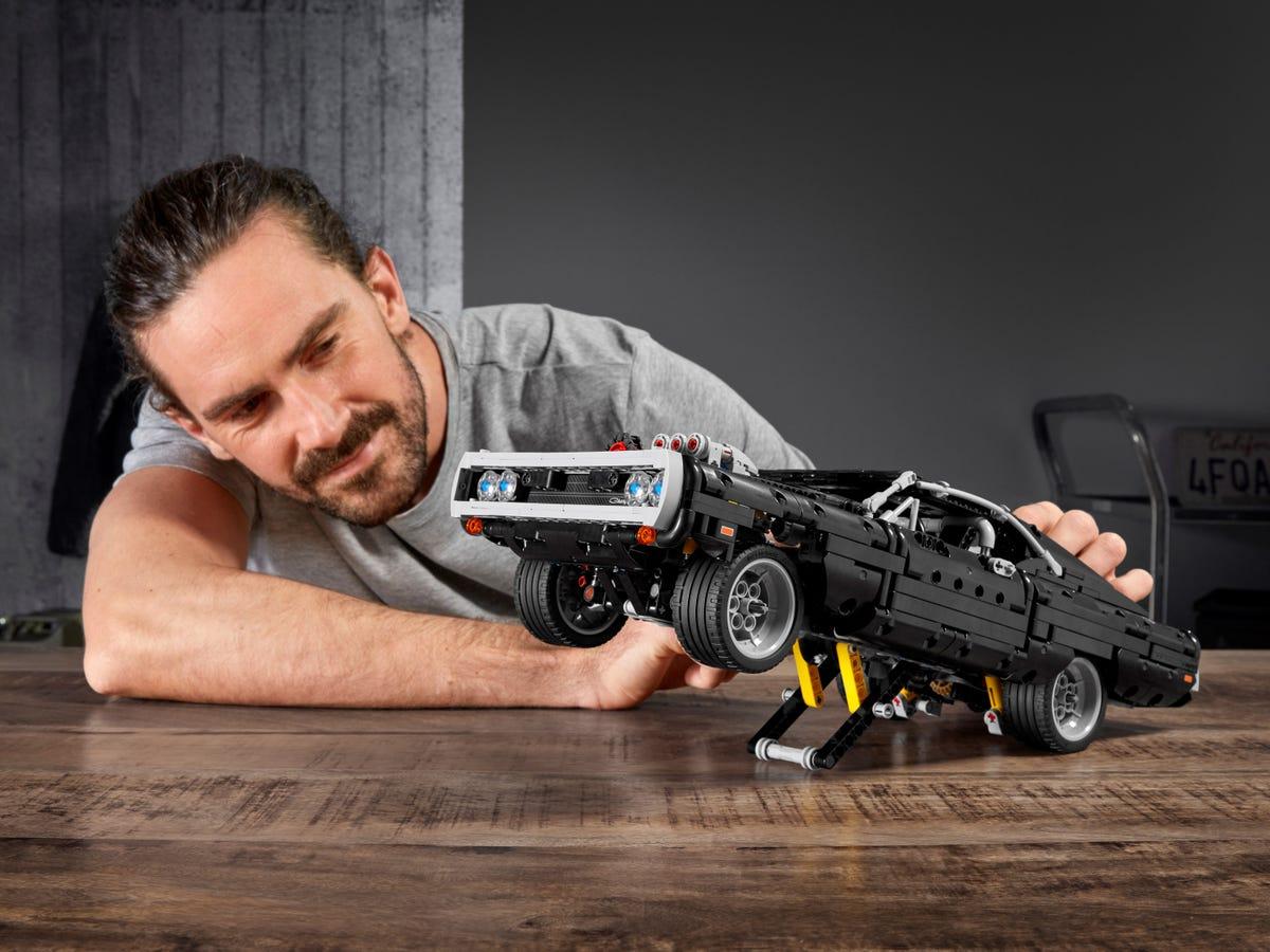 Link a lego technic – fast & furious – toretto – dodge – 11