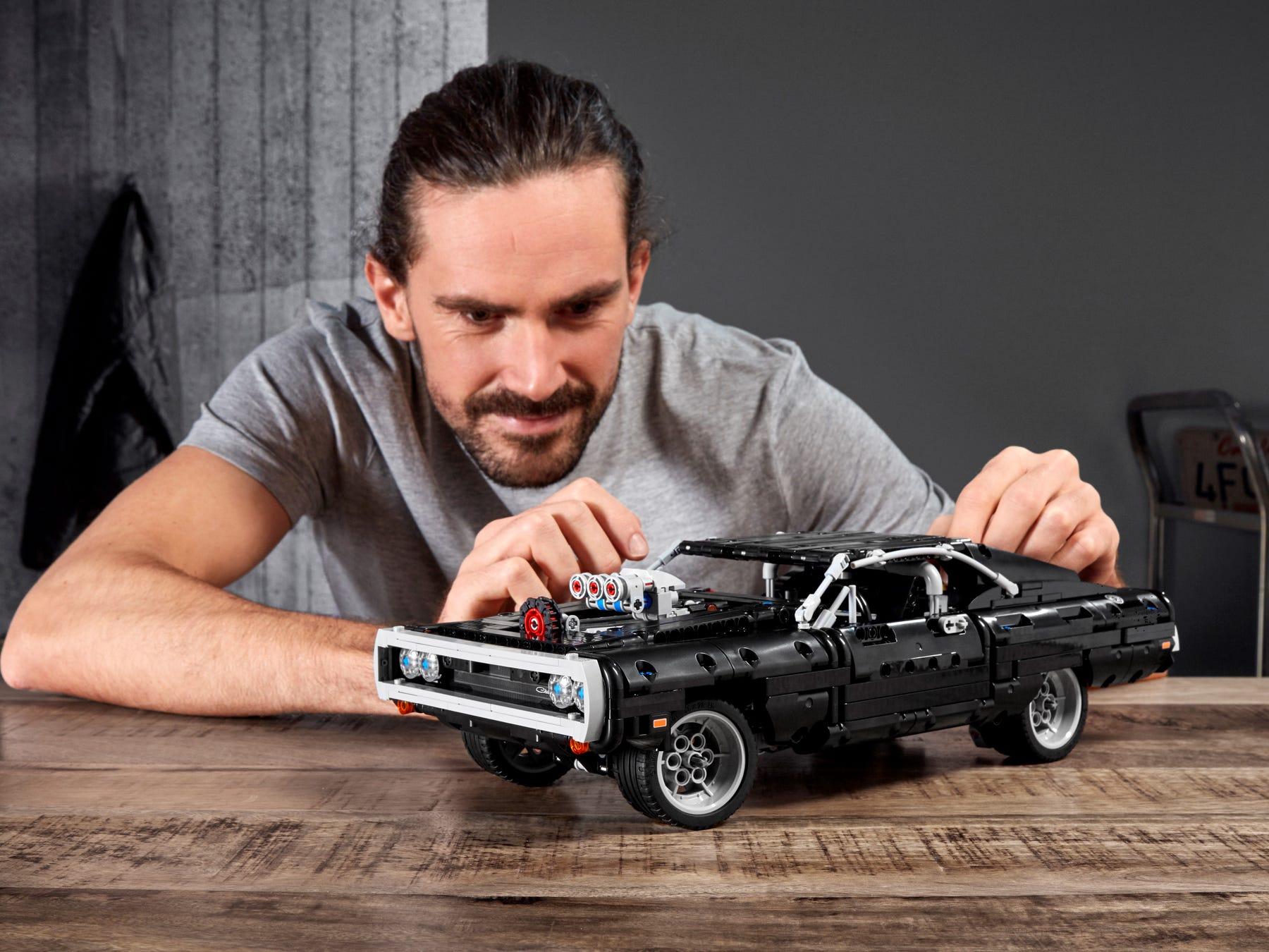 Link a lego technic – fast & furious – toretto – dodge – 13