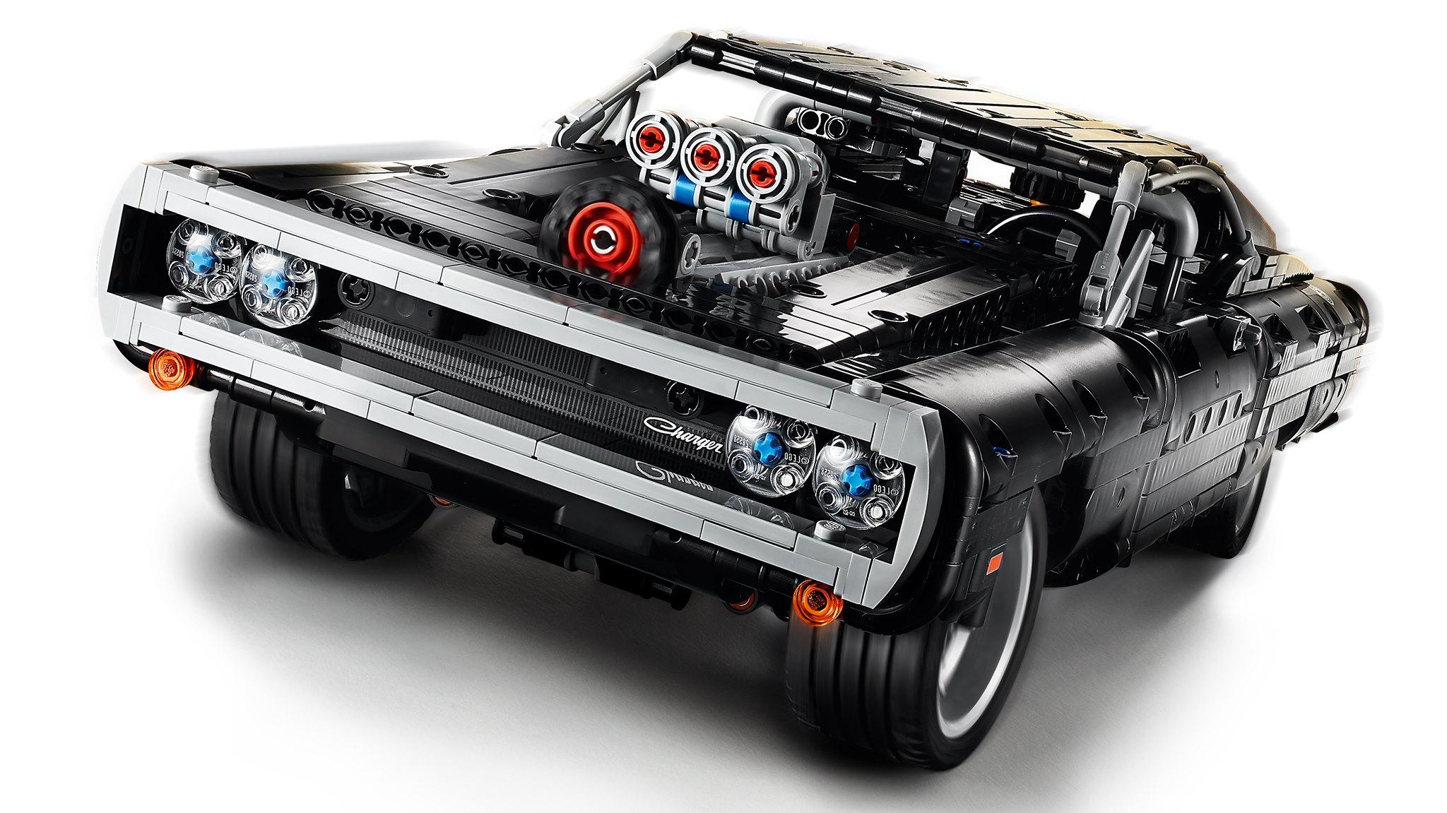 Link a lego technic – fast & furious – toretto – dodge – 5
