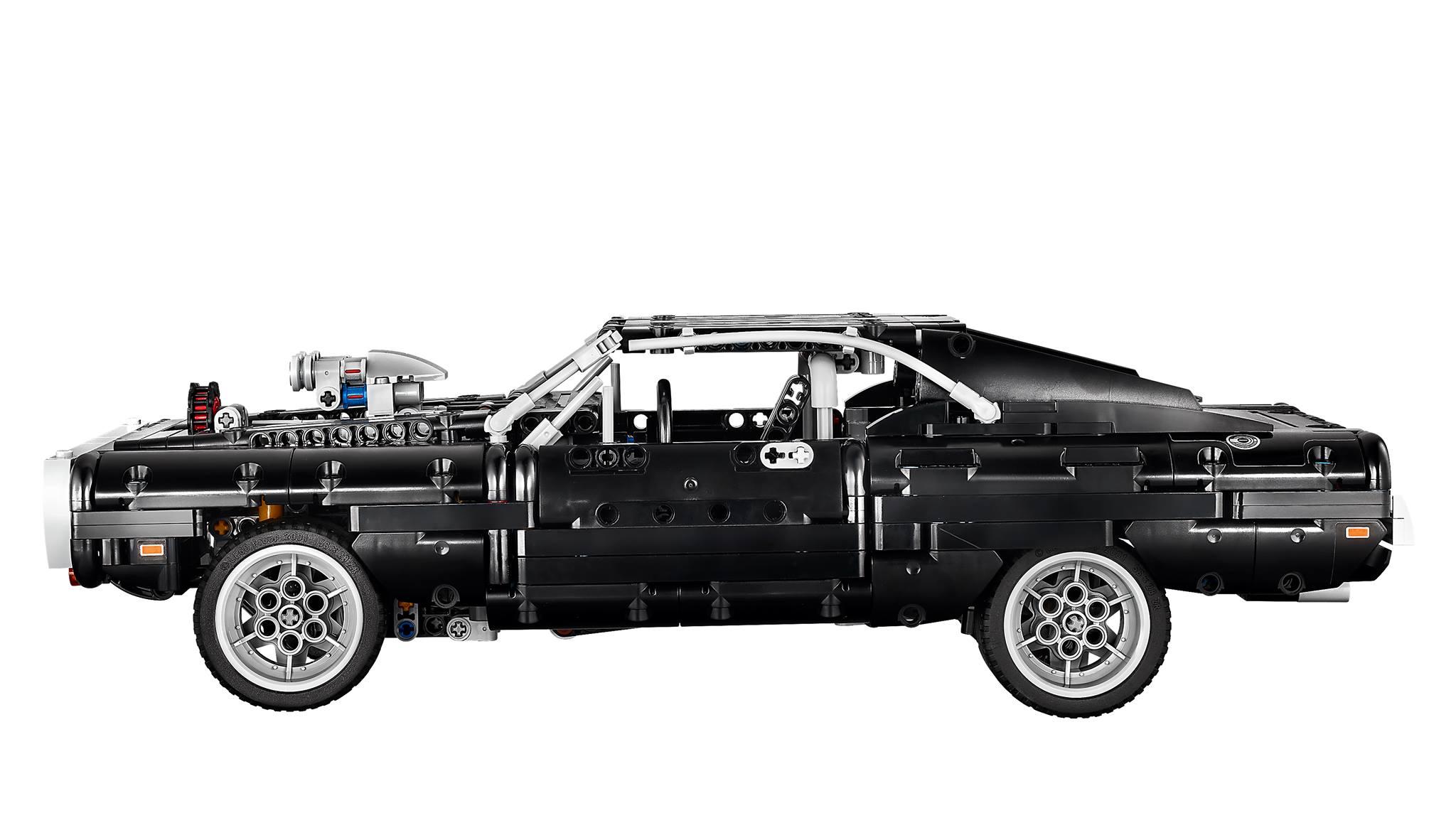 Link a lego technic – fast & furious – toretto – dodge – 6