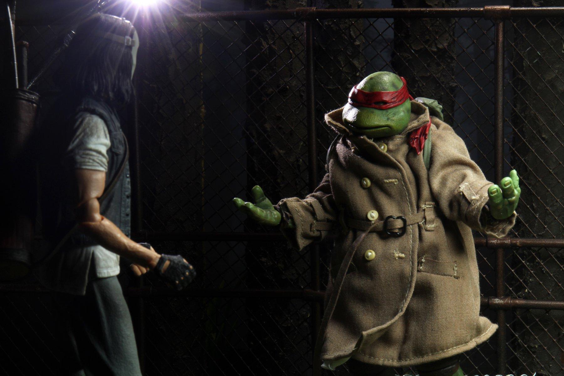 Link a teenage mutant ninja turtles – NECA – action – figure – tartarughe ninja – raffaello – casey jones – 2