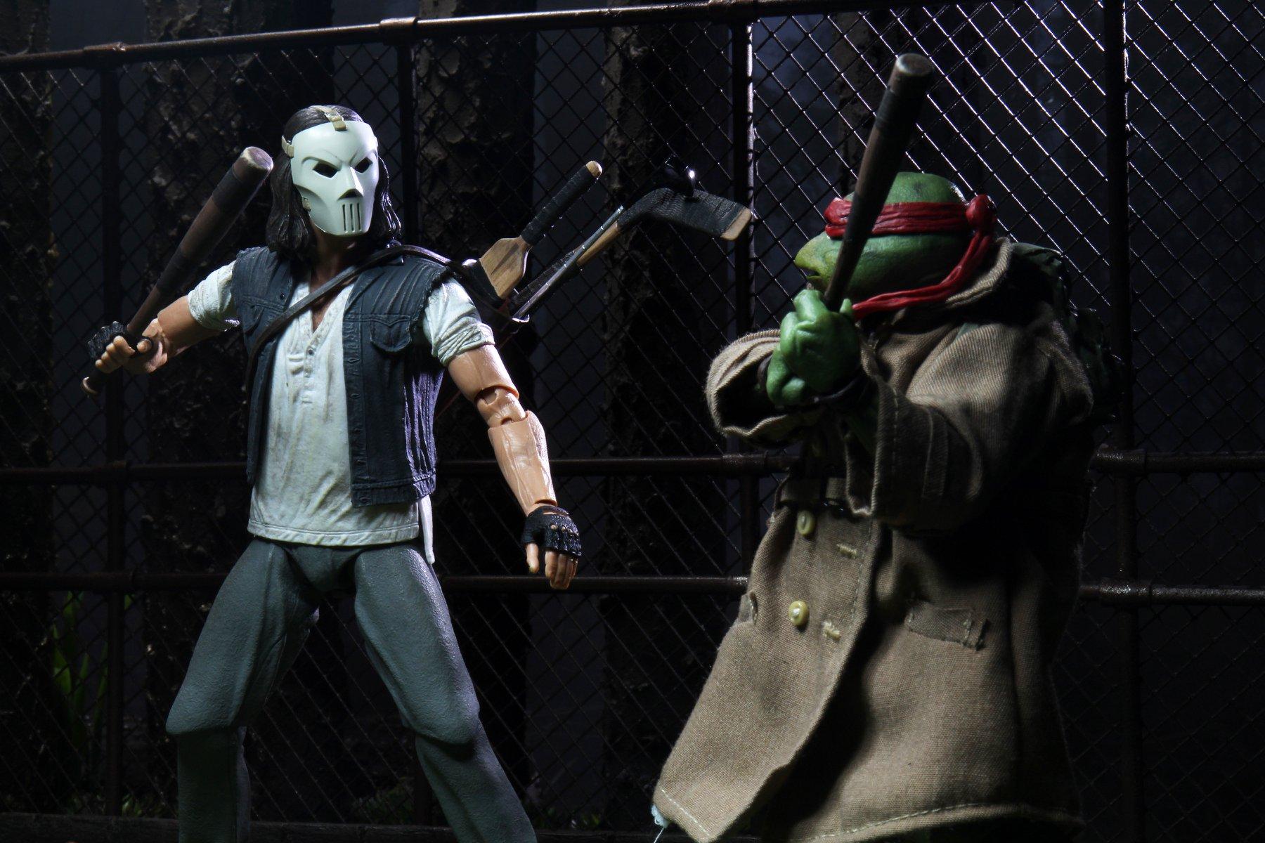 Link a teenage mutant ninja turtles – NECA – action – figure – tartarughe ninja – raffaello – casey jones – 4