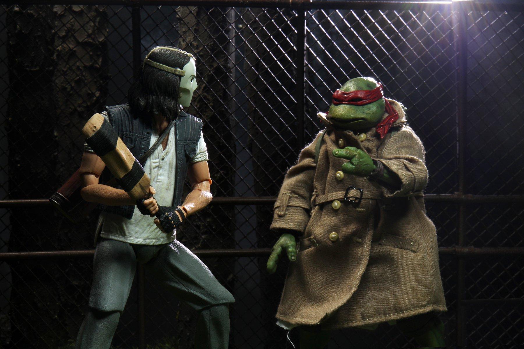 Link a teenage mutant ninja turtles – NECA – action – figure – tartarughe ninja – raffaello – casey jones – 5