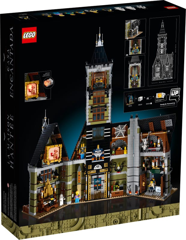 Link a LEGO_creator_La_casa_stregata_10273_Haunted_House-6