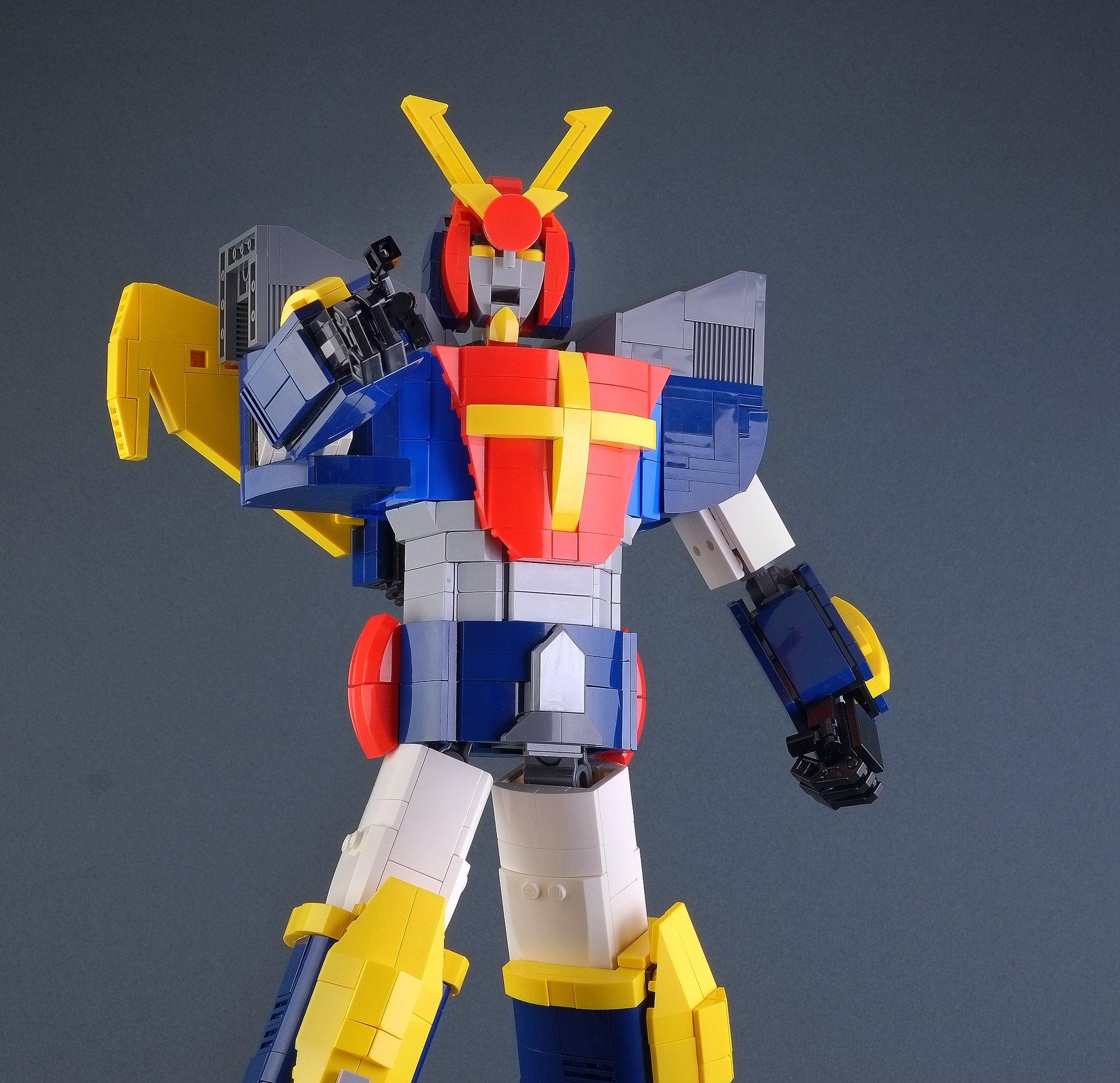 Link a Marco_de_Bon_Daitarn_III_LEGO_Mecha_Robot_Haran_Banjo_Mach_Patrol-4