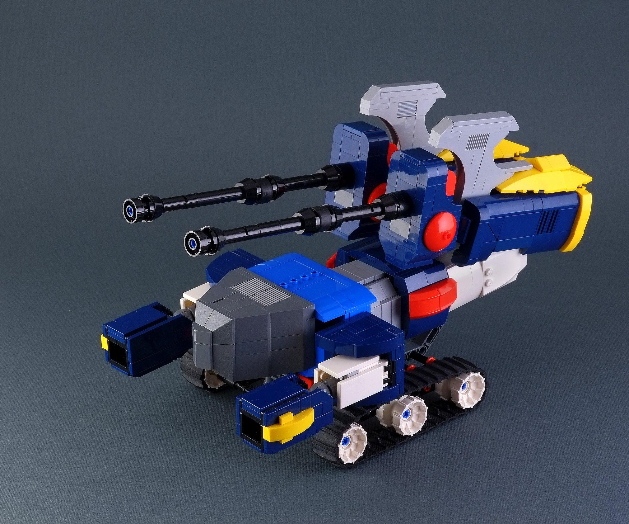 Link a Marco_de_Bon_Daitarn_III_LEGO_Mecha_Robot_Haran_Banjo_Mach_Patrol-9