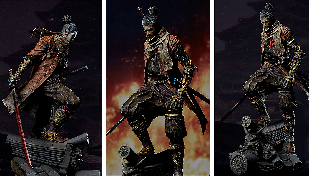 Link a Sekiro_Shadows_die_Twice_Wolf_Okami_Lupo_Statue_Figure_Gecco-2