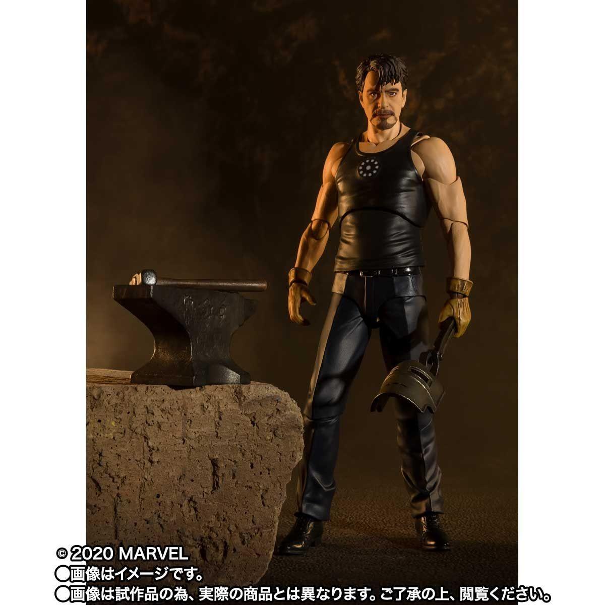 Link a Tony_Stark_Iron_Man_Birth_SH_figuarts_Bandai_Action_figure-7