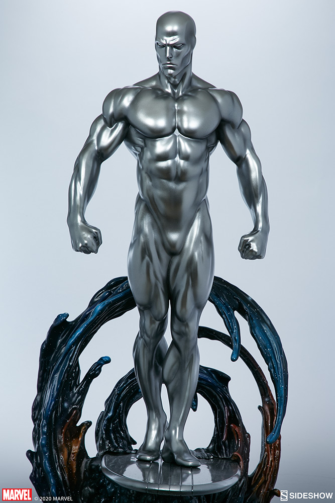 Link a Silver-Surfer-Maquette-Sideshow-Marvel-10