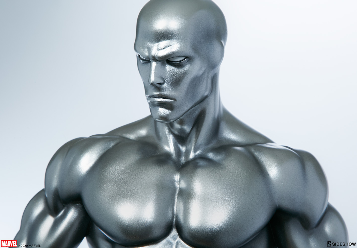 Link a Silver-Surfer-Maquette-Sideshow-Marvel-11