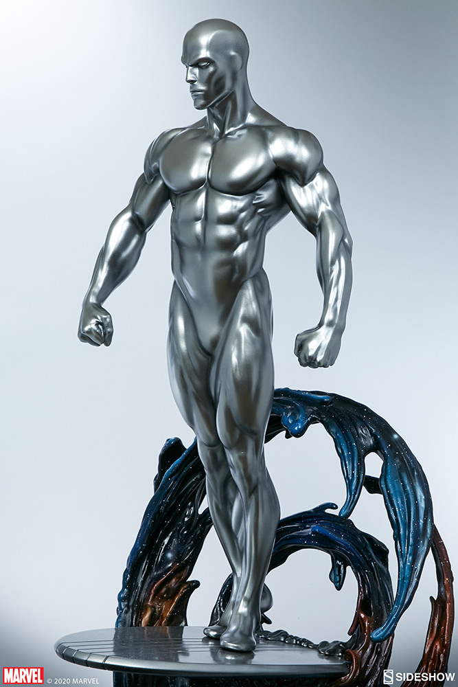 Link a Silver-Surfer-Maquette-Sideshow-Marvel-13