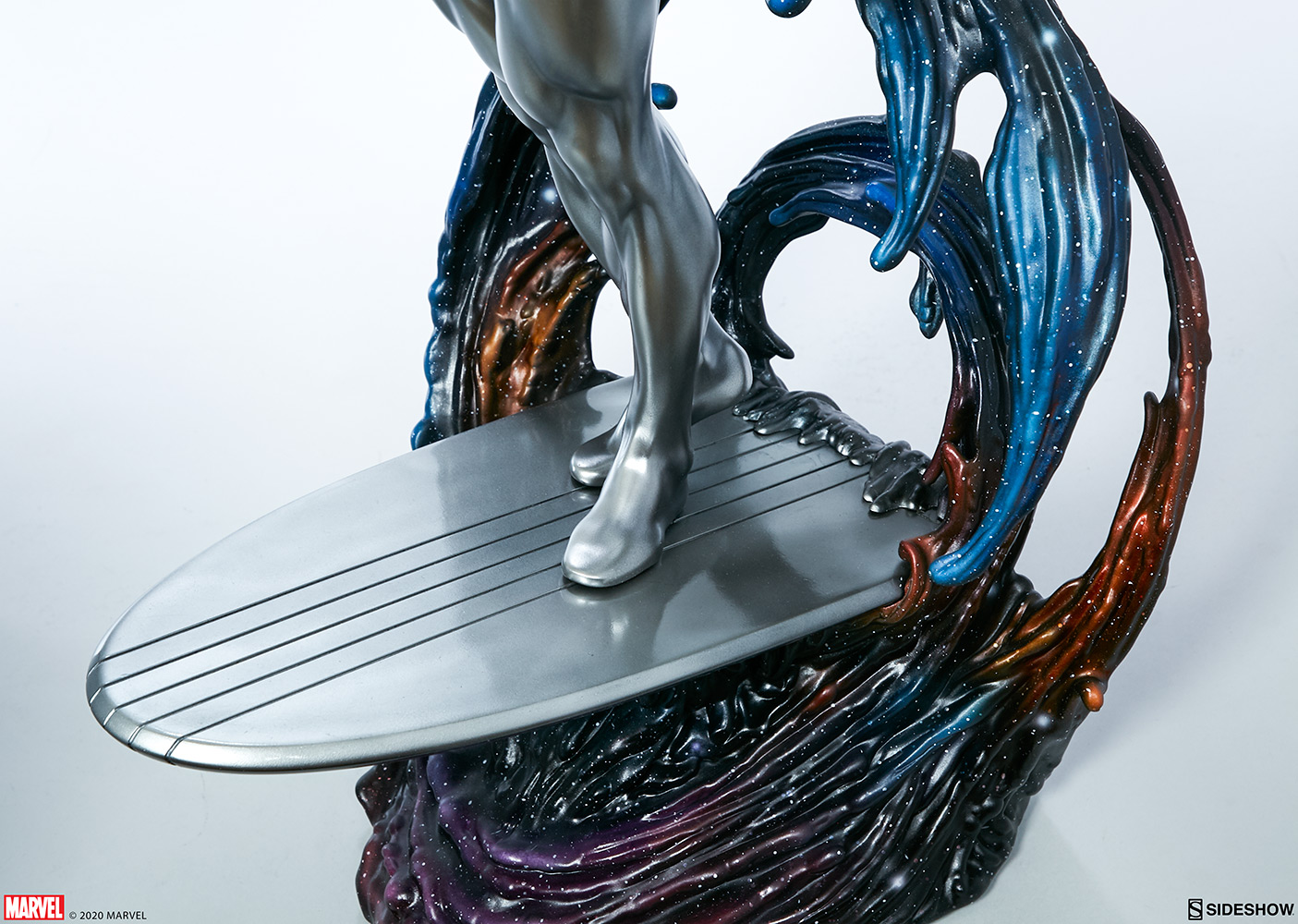Link a Silver-Surfer-Maquette-Sideshow-Marvel-14