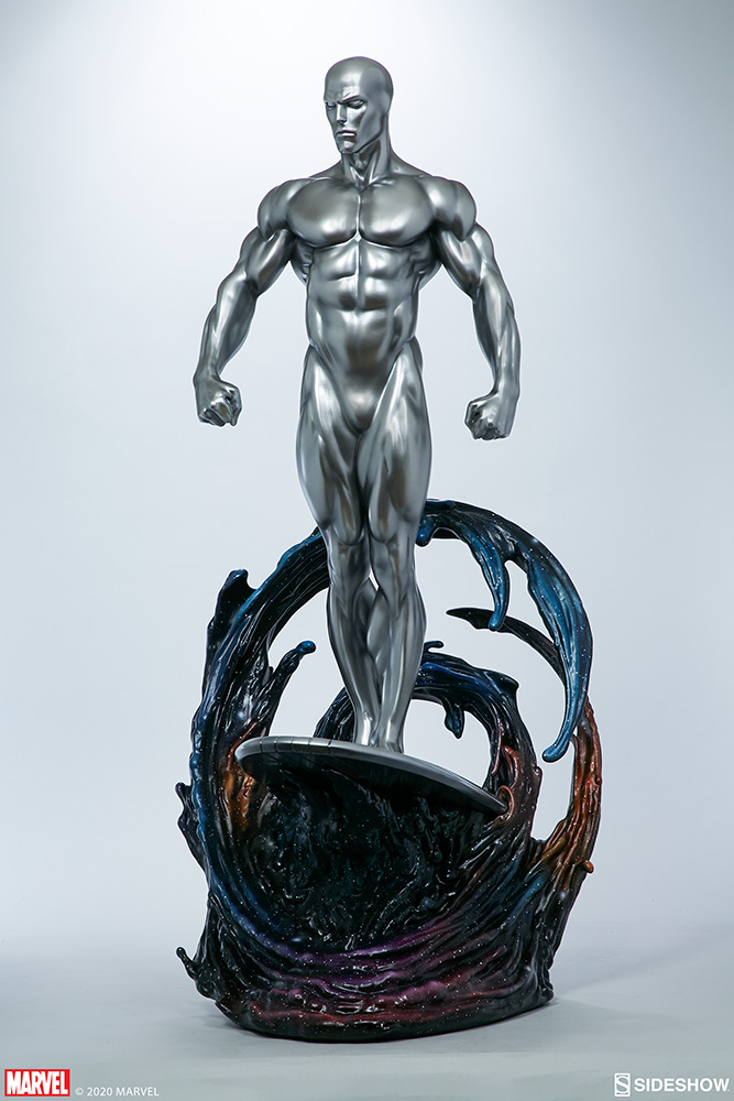 Link a Silver-Surfer-Maquette-Sideshow-Marvel-2