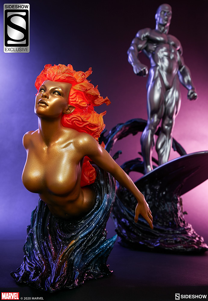 Link a Silver-Surfer-Maquette-Sideshow-Marvel-22