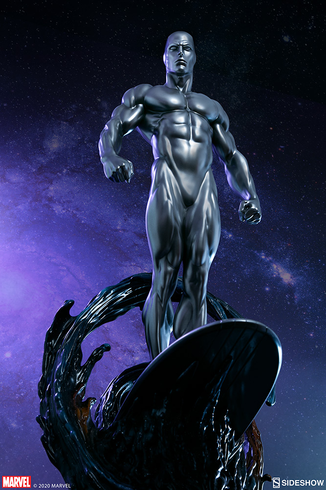 Link a Silver-Surfer-Maquette-Sideshow-Marvel-25