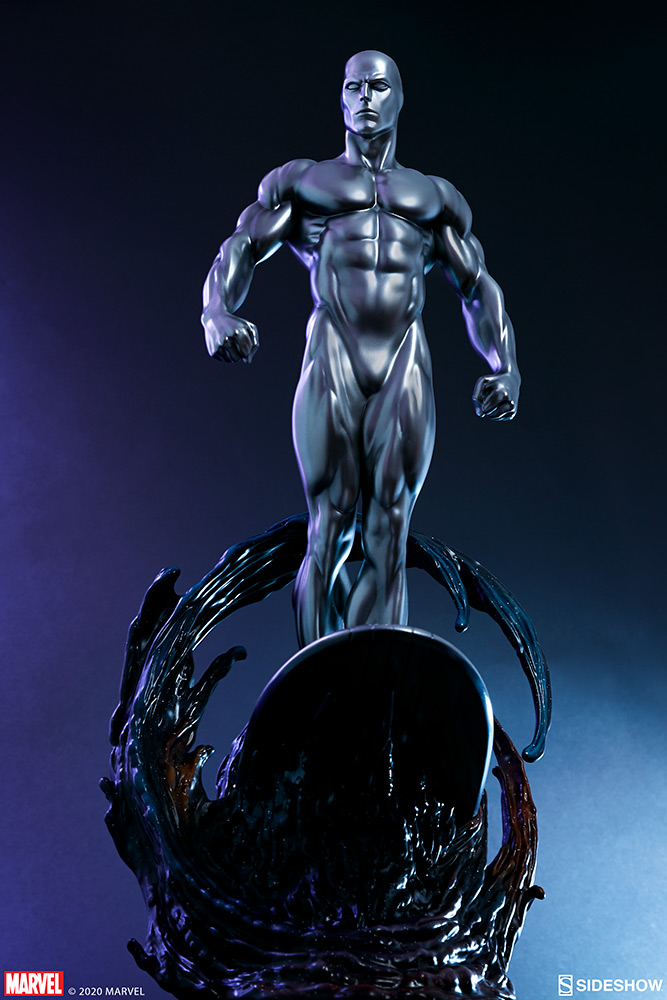Link a Silver-Surfer-Maquette-Sideshow-Marvel-28