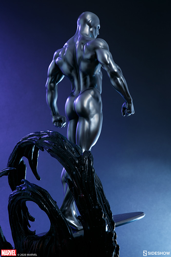 Link a Silver-Surfer-Maquette-Sideshow-Marvel-29