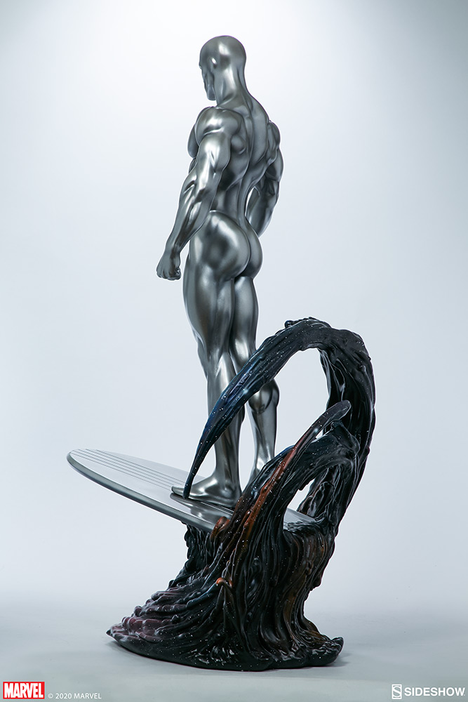 Link a Silver-Surfer-Maquette-Sideshow-Marvel-3