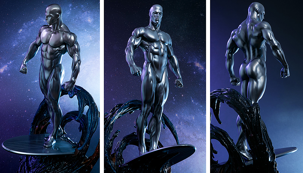 Link a Silver-Surfer-Maquette-Sideshow-Marvel-30