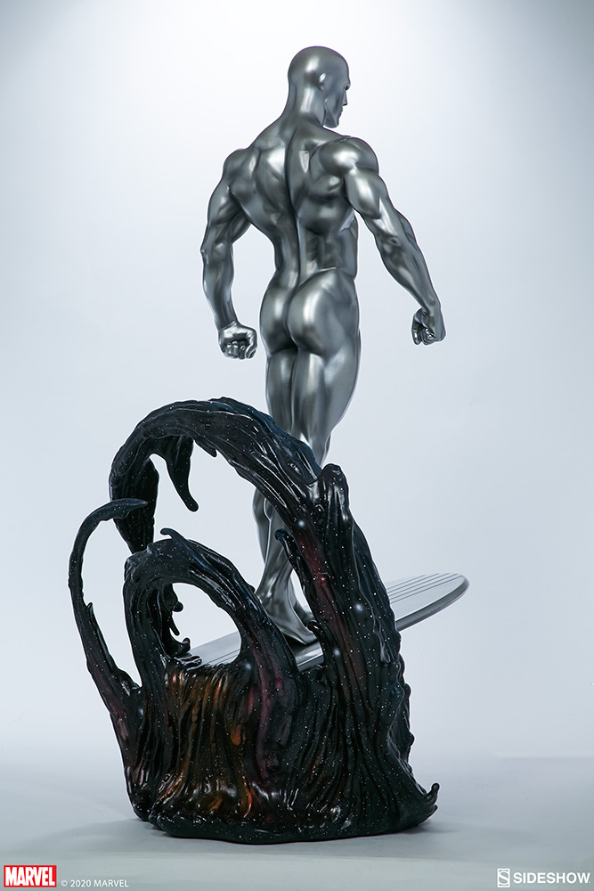 Link a Silver-Surfer-Maquette-Sideshow-Marvel-5