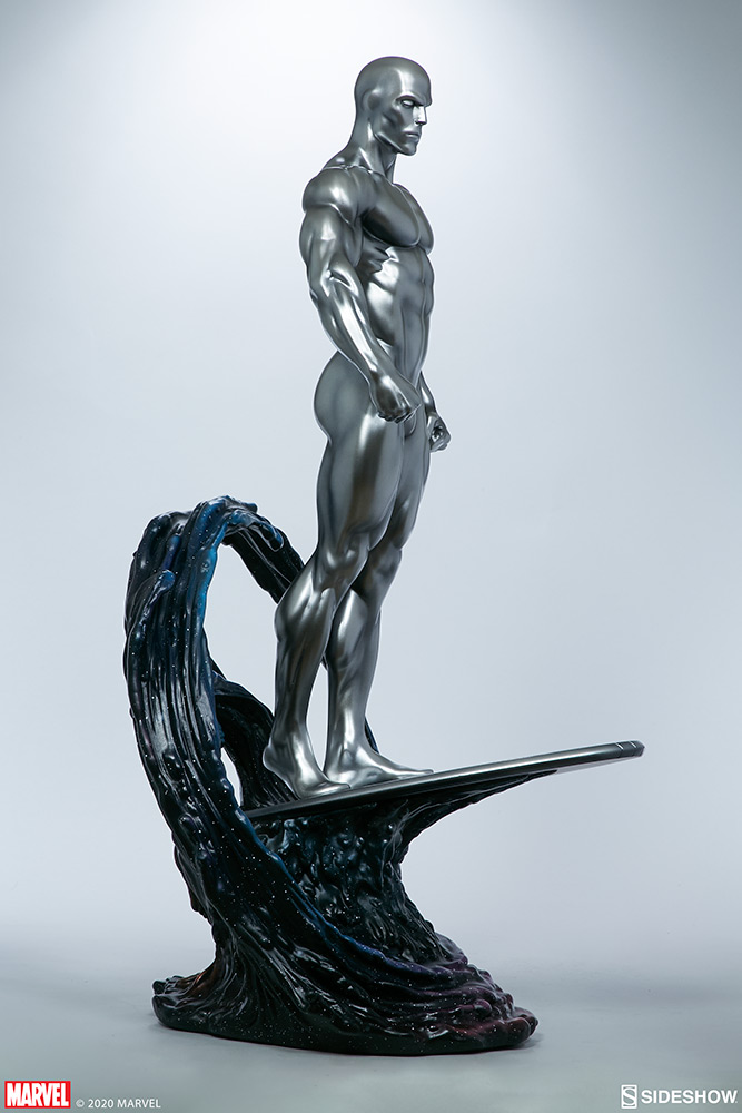 Link a Silver-Surfer-Maquette-Sideshow-Marvel-6