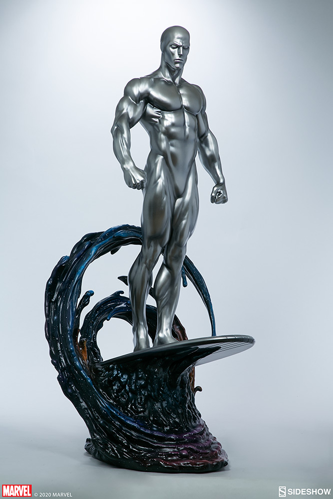 Link a Silver-Surfer-Maquette-Sideshow-Marvel-7