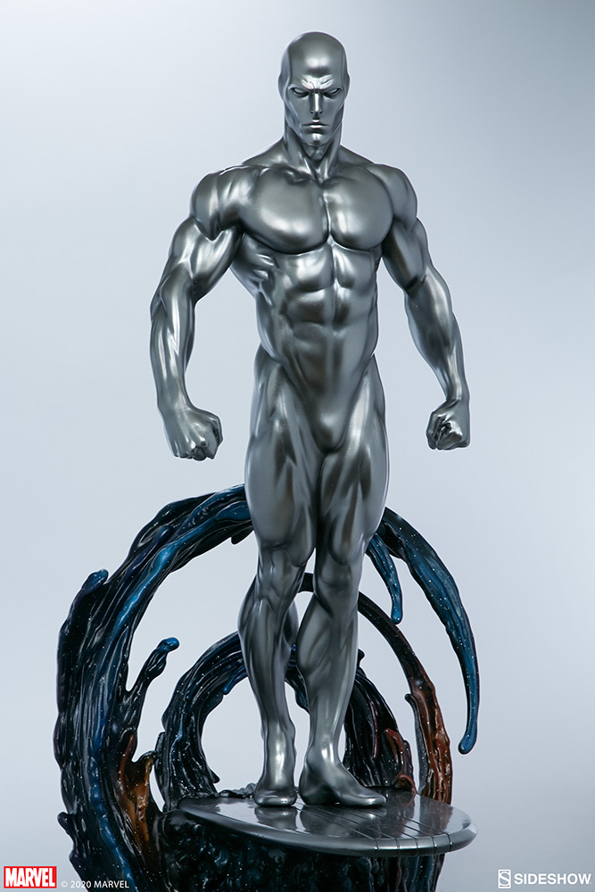 Link a Silver-Surfer-Maquette-Sideshow-Marvel-8