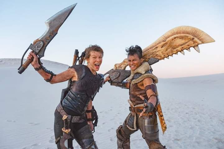 Link a 1591734828_678_Reveal-New-Image-Of-Milla-Jovovich-Filming-Monster-Hunter-—
