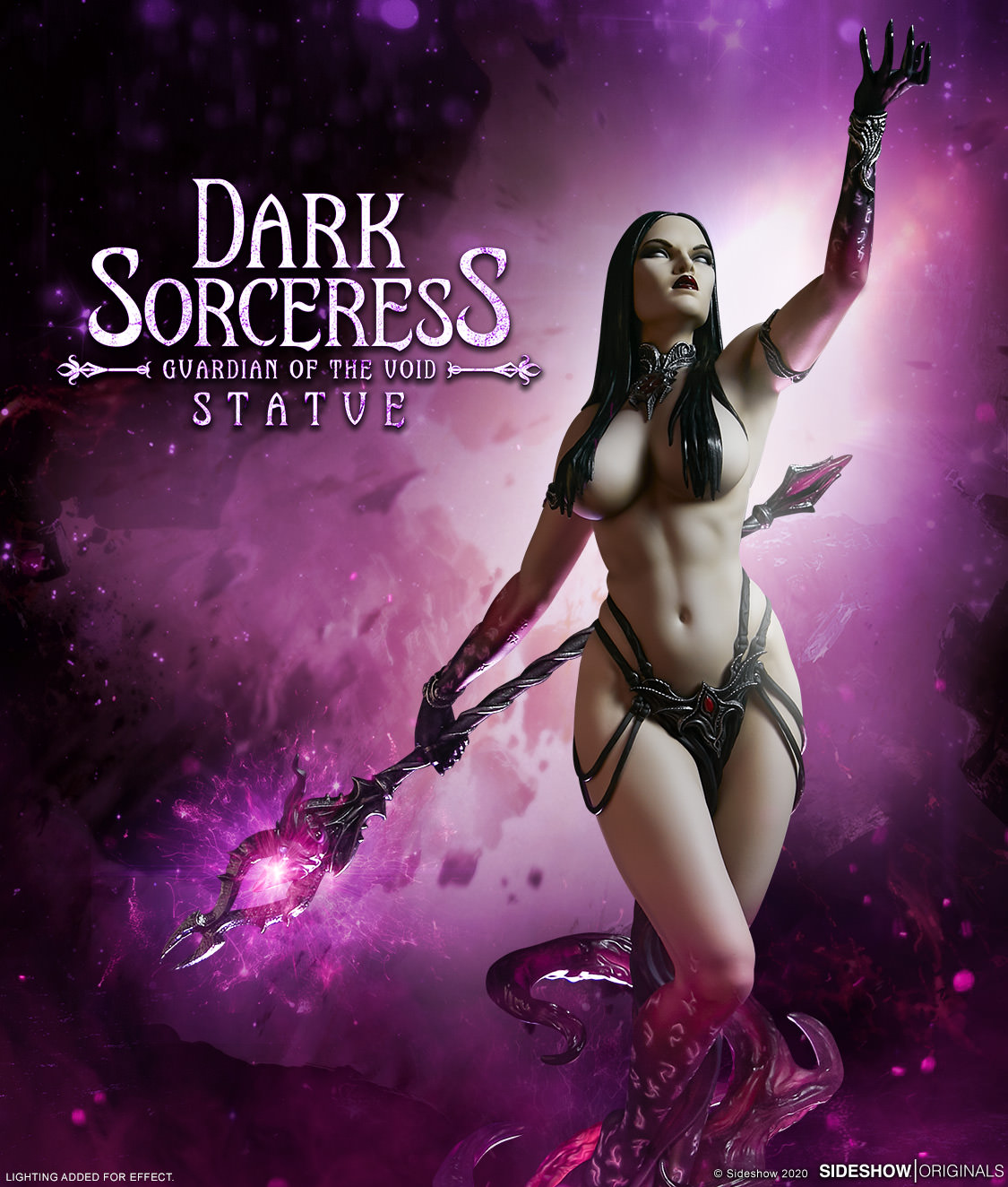 Link a The Dark Sorceress_ Guardian of the Void Statue_sideshow-1