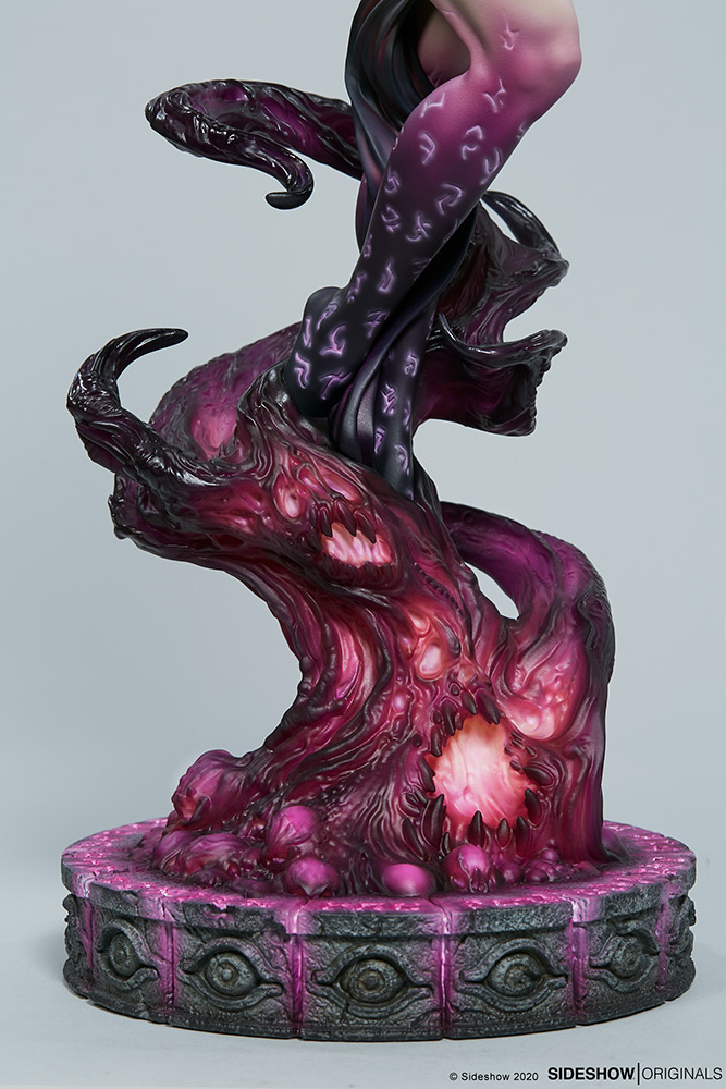 Link a The Dark Sorceress_ Guardian of the Void Statue_sideshow-12