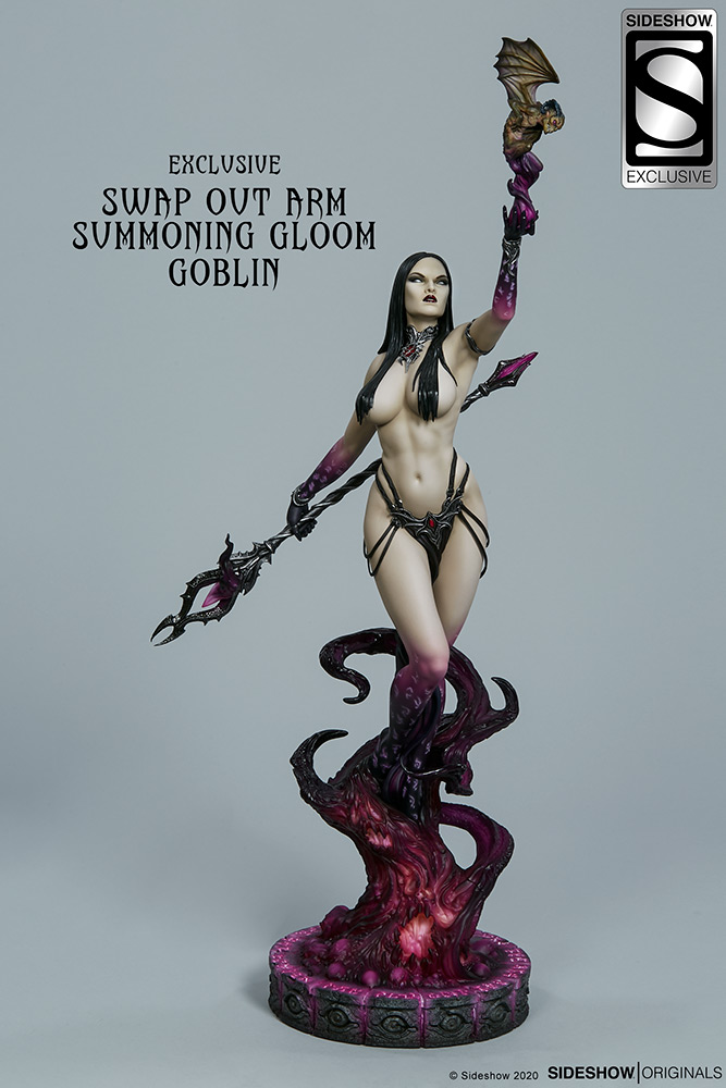 Link a The Dark Sorceress_ Guardian of the Void Statue_sideshow-14