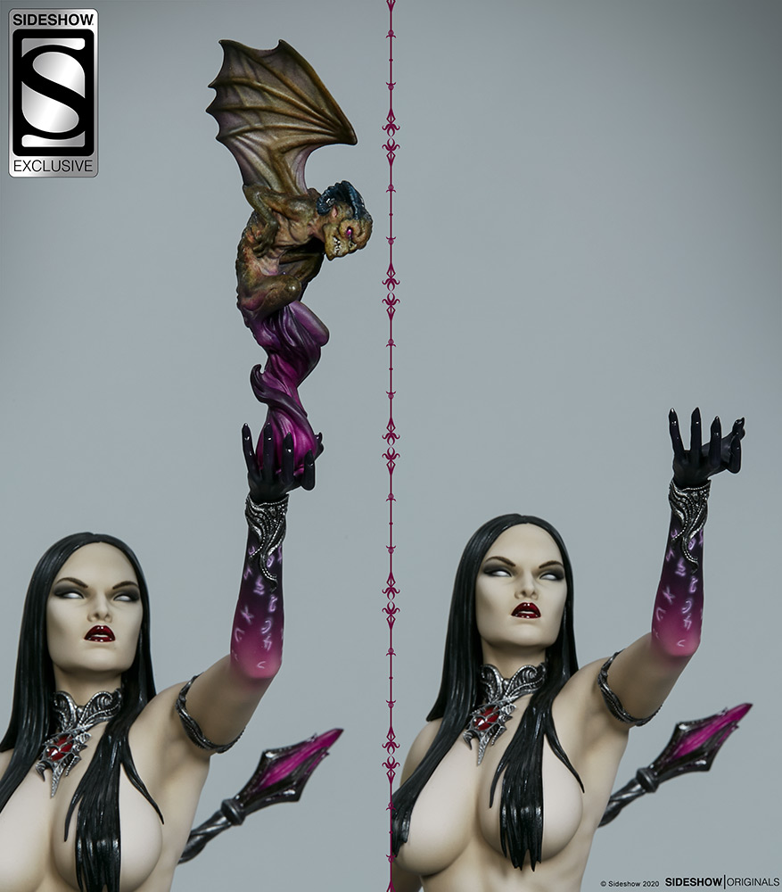 Link a The Dark Sorceress_ Guardian of the Void Statue_sideshow-15