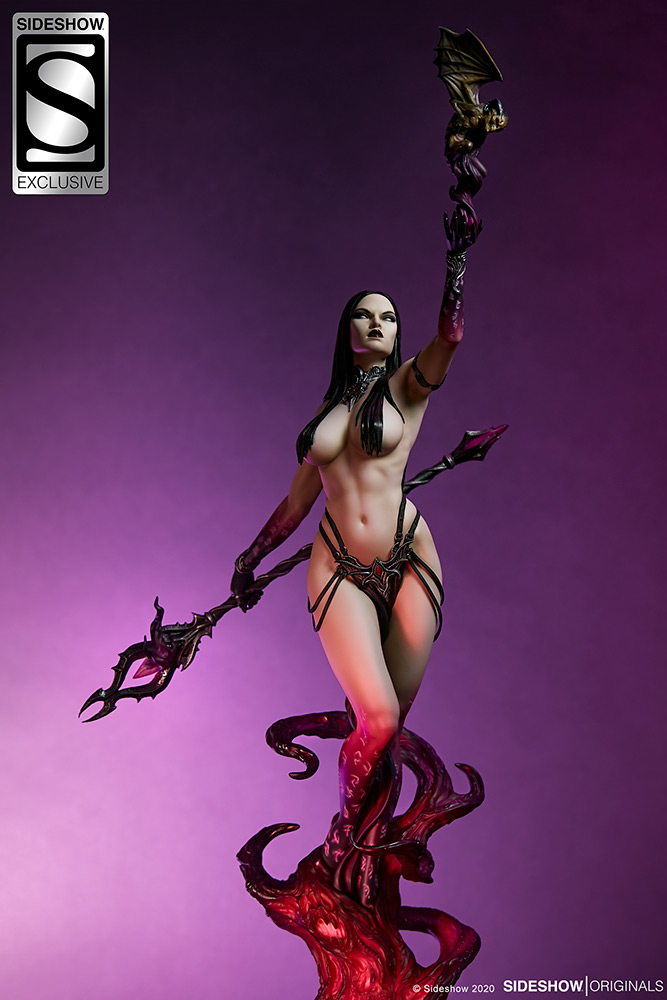 Link a The Dark Sorceress_ Guardian of the Void Statue_sideshow-16