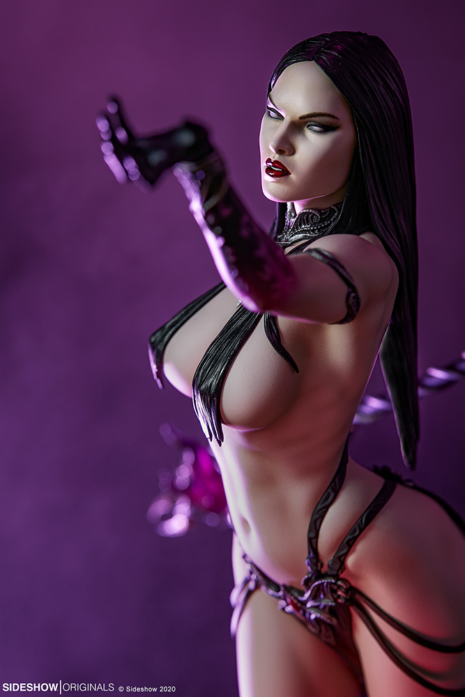 Link a The Dark Sorceress_ Guardian of the Void Statue_sideshow-18
