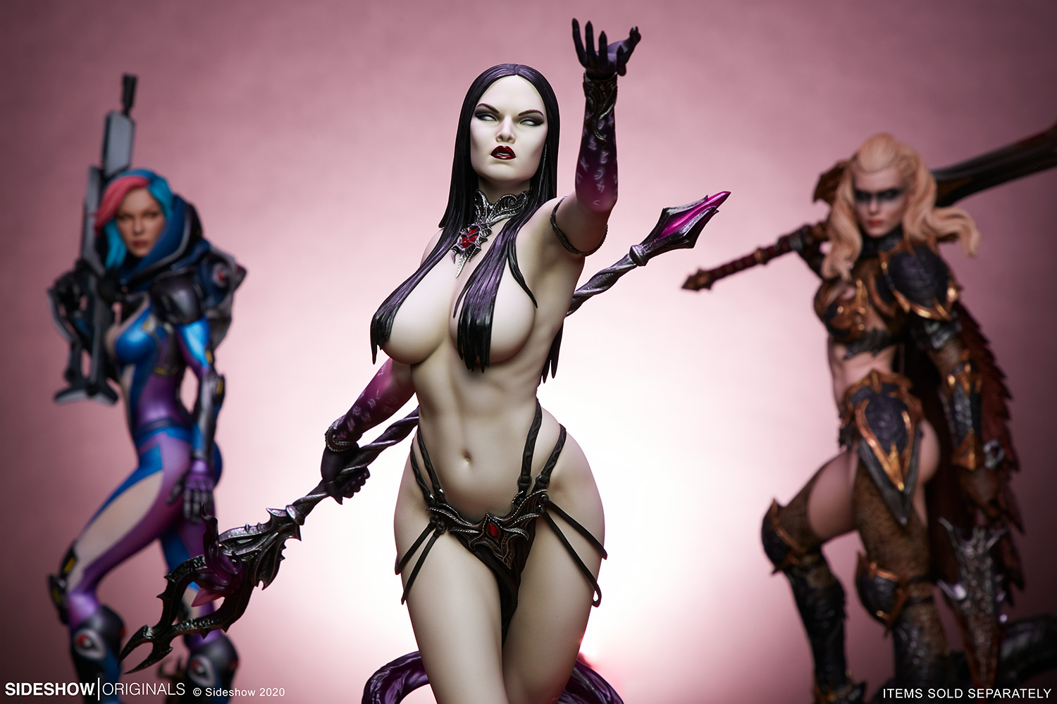 Link a The Dark Sorceress_ Guardian of the Void Statue_sideshow-19