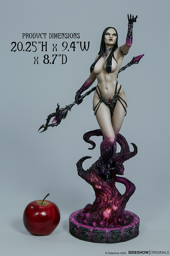 Link a The Dark Sorceress_ Guardian of the Void Statue_sideshow-3
