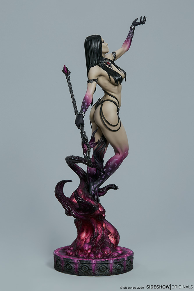 Link a The Dark Sorceress_ Guardian of the Void Statue_sideshow-5