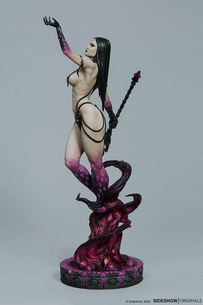 Link a The Dark Sorceress_ Guardian of the Void Statue_sideshow-7